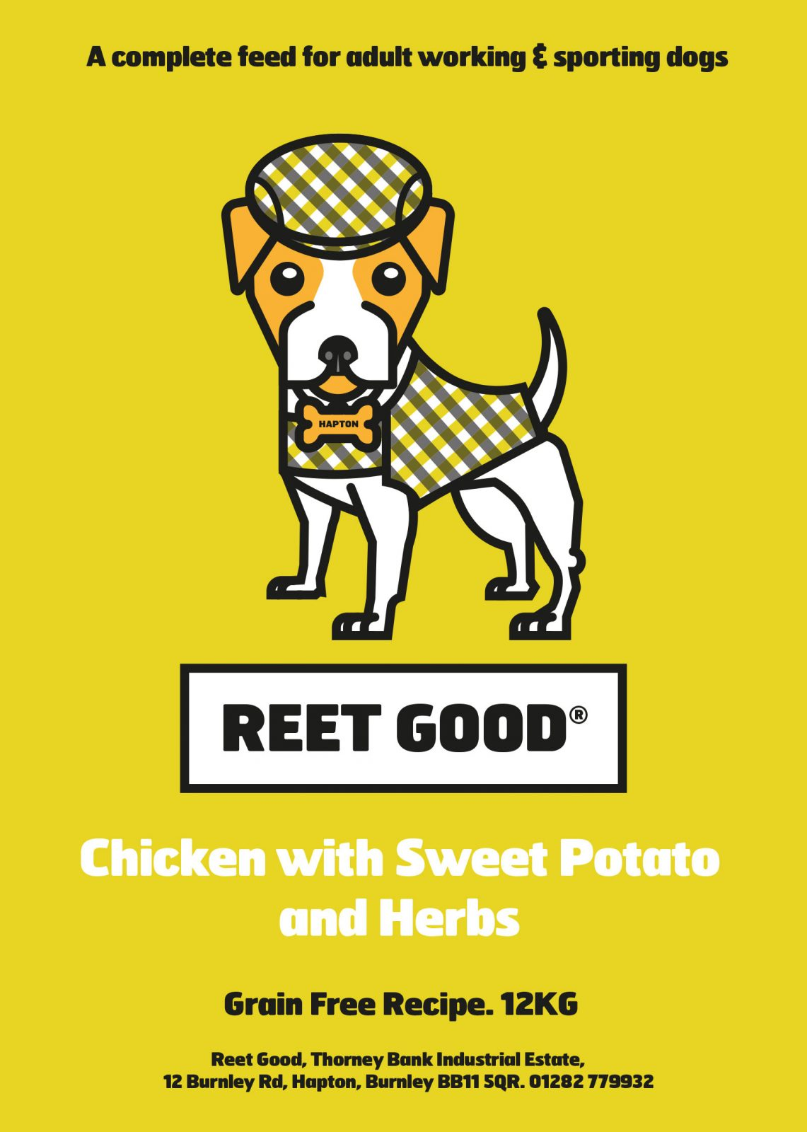 Chicken, Sweet Potato & Herbs