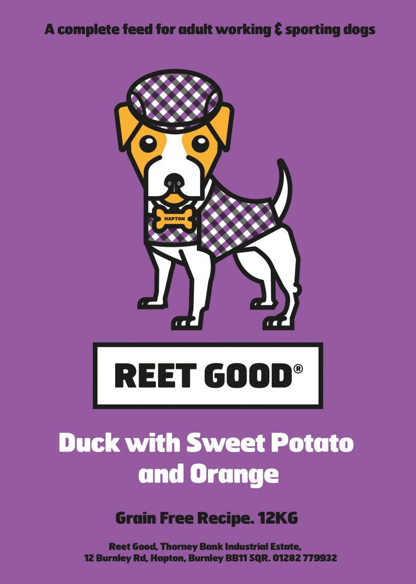Duck, Sweet Potato & Orange