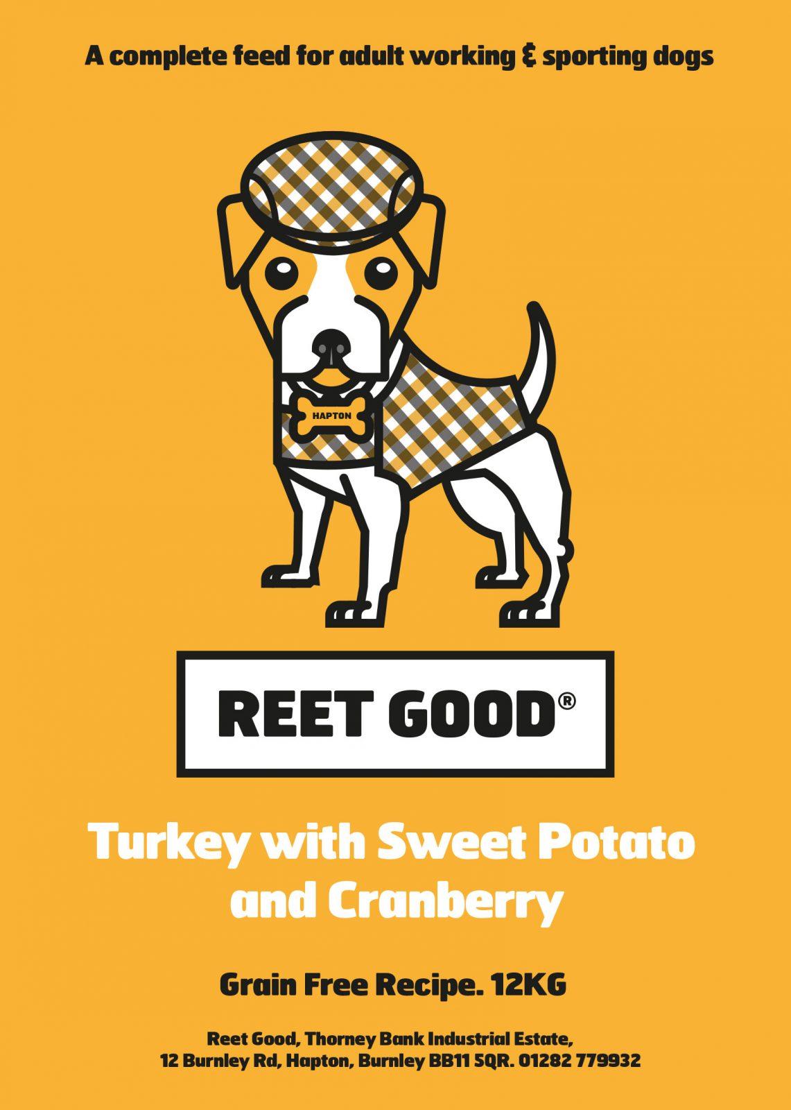 Turkey, Sweet Potato & Cranberry